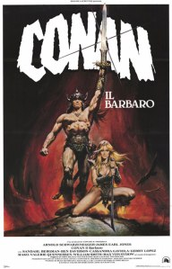 CONAN THE BARBARIAN Regia: John MiliusDistribuzione: Universal PicturesData di uscita Italia:10 Settembre 1982