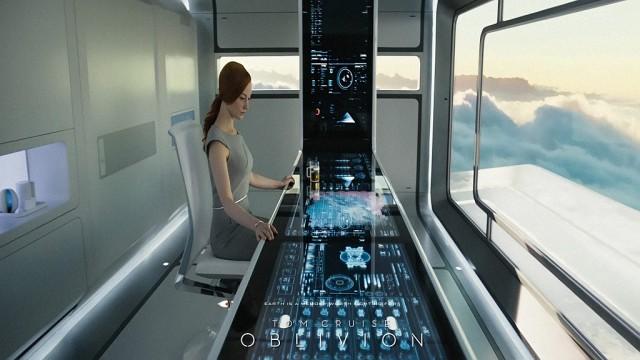 Oblivion - sistema di controllo touch screen