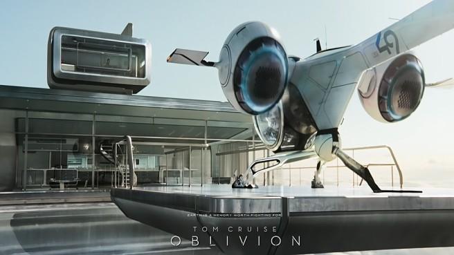 Oblivion - SkyHome e BubbleShip