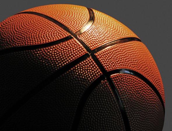 Tipica superficie a buccia d'arancia presente sui palloni da basket