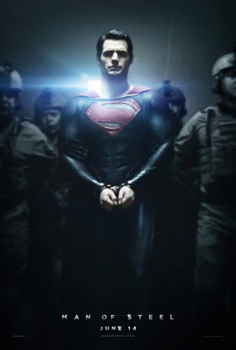 Man of steel - locandina