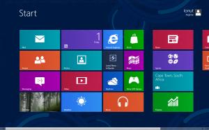 Interfaccia di Windows 8