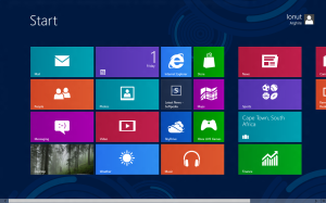 Interfaccia di Windows 8