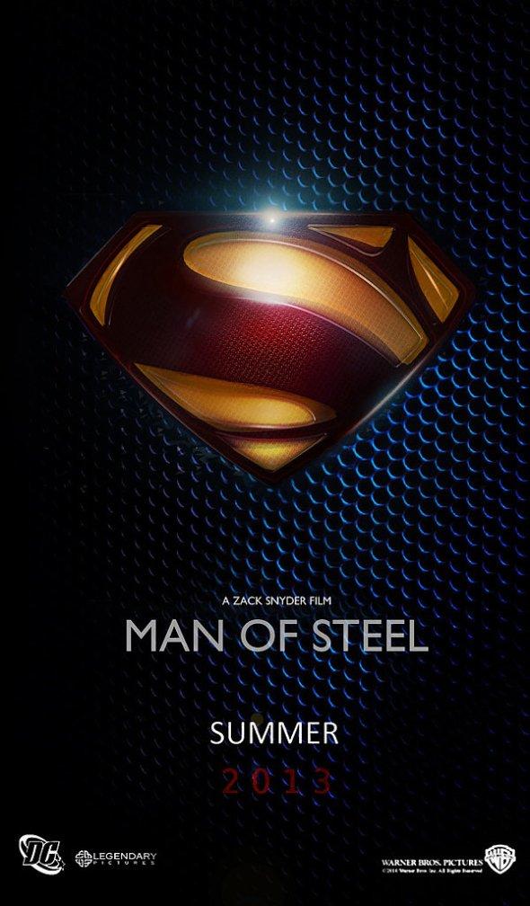 Locandina di MAN OF STEEL - L'uomo d'acciaio