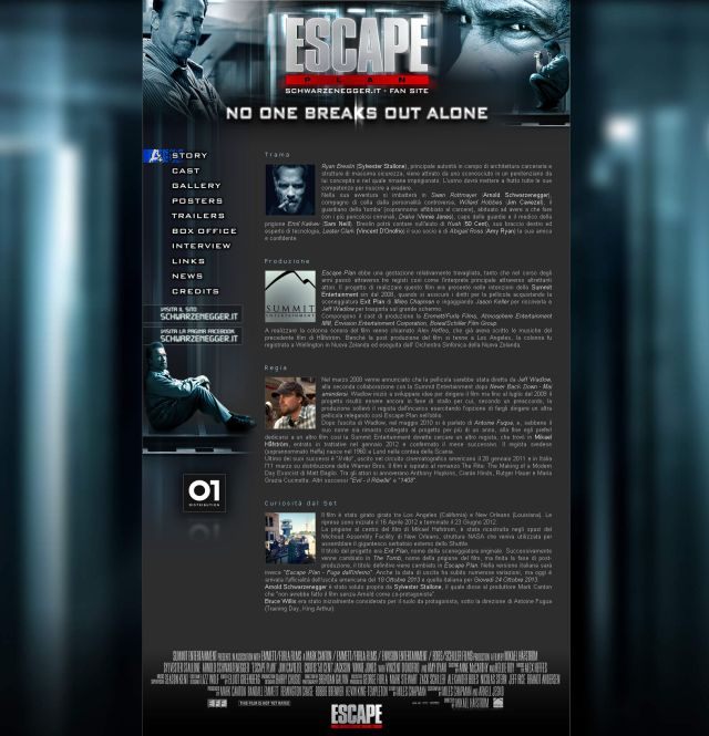 Fan Site - Escape Plan