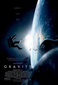 Poster ufficiale di Gravity - film di Alfonso Cuaròn - 2013
