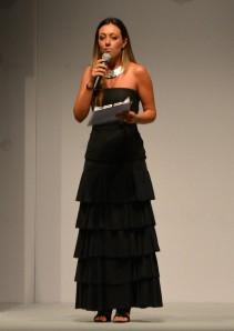 Serena Magnanensi - presentatrice della serata
