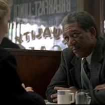 Gwyneth Paltrow e Morgan Freeman in Seven