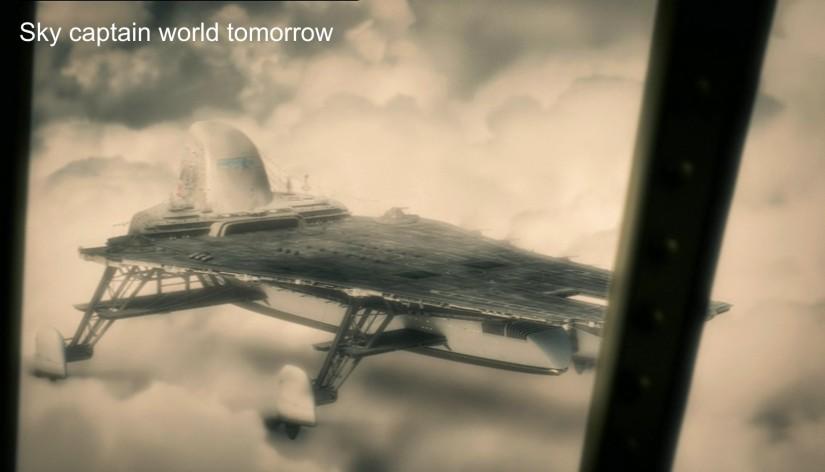 """Sky Captain and the World Tomorrow  fortezza """"Manta"""""""