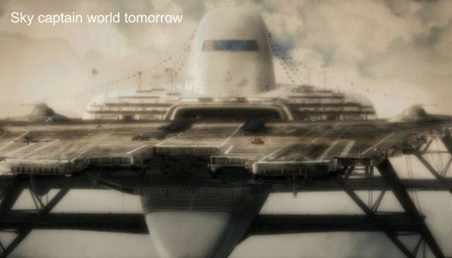 "Sky Captain and the World Tomorrow  fortezza ""Manta"""