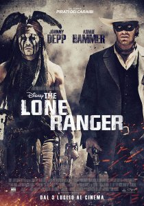 The Lone Ranger - poster italiano