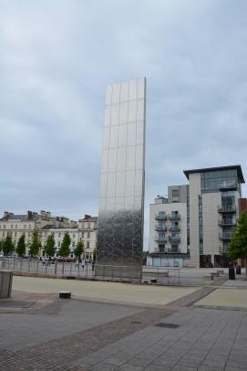Cardiff Bay - Fontana con accesso al Torchwood