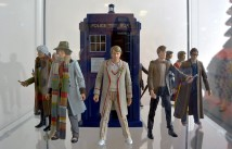 Doctor Who Experience - Cardiff Bay - Action Figures dei dottori