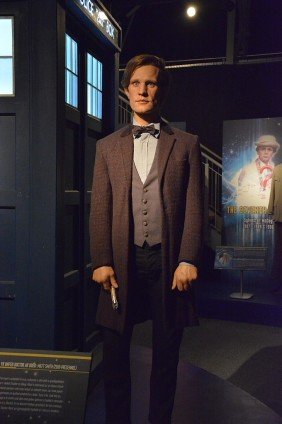 Doctor Who Experience - Cardiff Bay - Riproduzione dell'undicesimo dottore - interpretato da Matt Smith