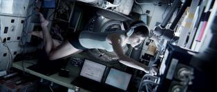 Fotogramma tratto da Gravity di Alfonso Cuaròn, film del 2013
