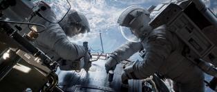 Alcune immagini tratte dal film Gravity di Alfonso Cuaròn