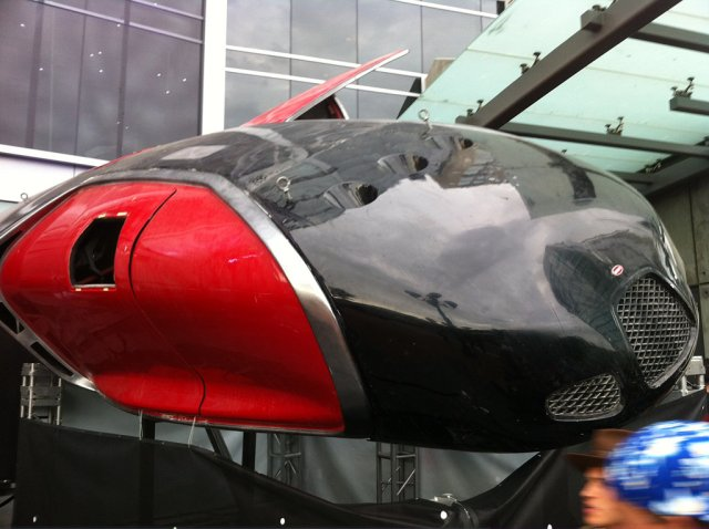 Elysium - navetta spaziale firmata Bugatti