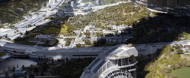 ELYSIUM - zona abitativa e aree verdi