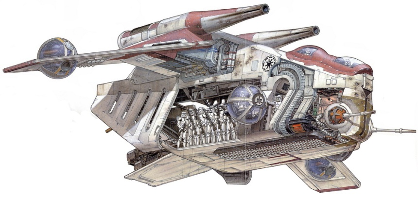 Star Wars - Low Altitude Assault Transport