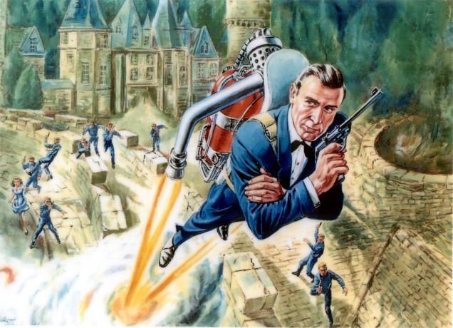 JetPack indossato da Agente 007 - Thunderball: Operazione tuono