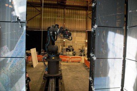 Sistema di ripresa della Bolt & Dolly dall'interno del cubo led