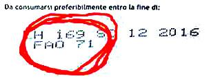 FAO 71 - Codice identificativo