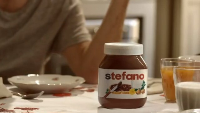 stefano - su confezione Nutella