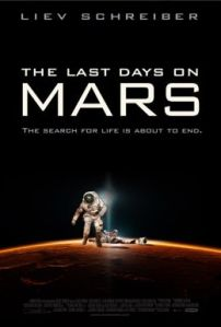 The last days of Mars - locandina del film