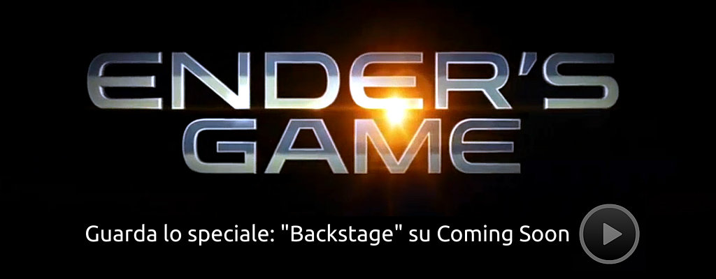 Ender's Games - Backstage su ComingSoon.it