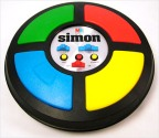 Il gioco da tavolo Simon degli anni '80