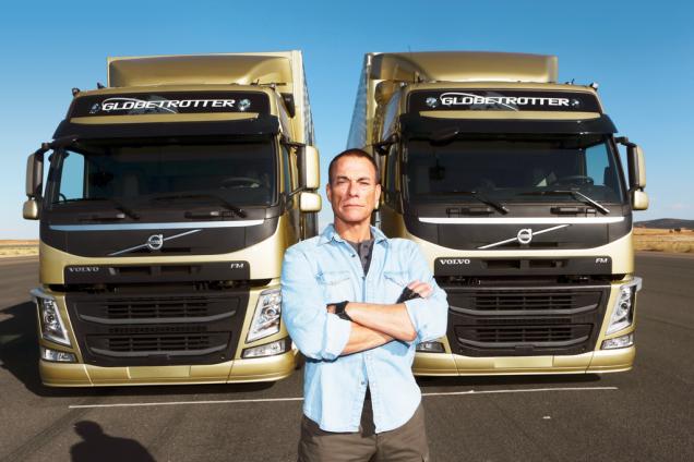 Jean-Claude Van Damme testimonial per Volvo Trucks