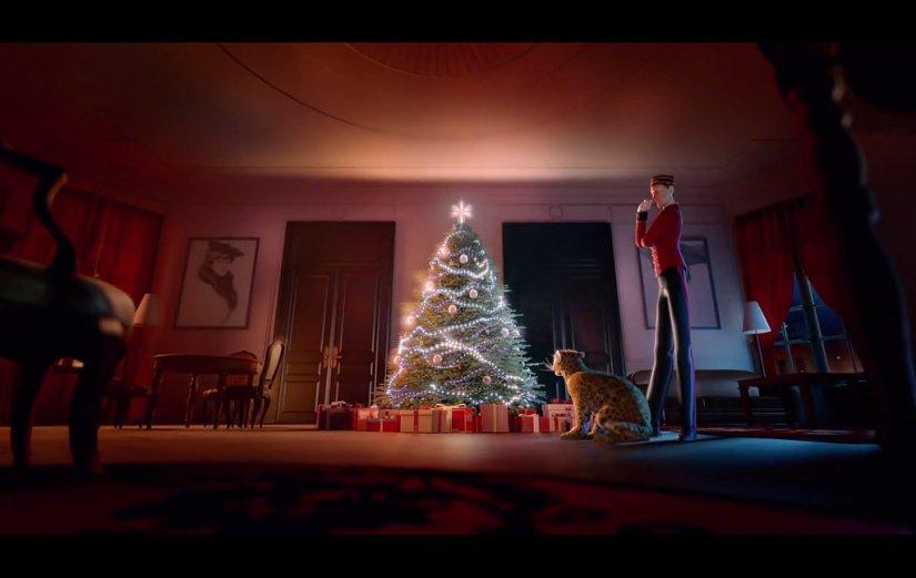 Immagine tratta dal video: Cartier - Winter Tale