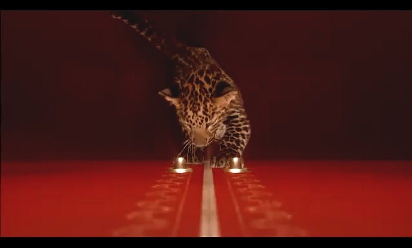 Cartier - Winter Tale 2010 - immagine tratta dal video