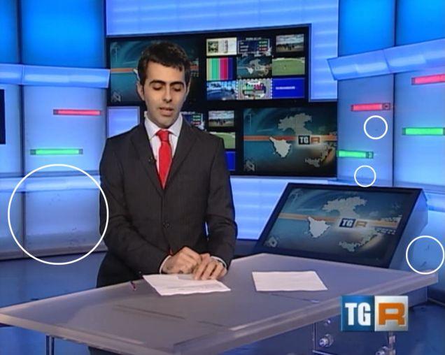 Immagine catturata dall'archivio web delle edizioni del TG3 Toscana
