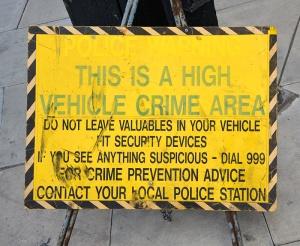 crime area