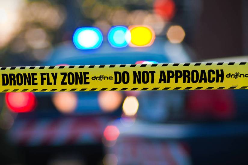 DRONE FLY ZONE - DO NOT APPROACH