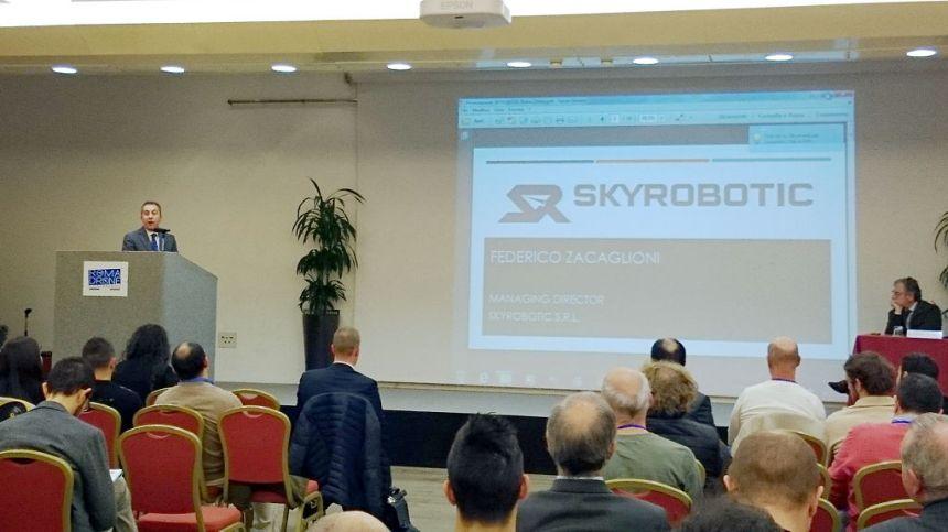Federico Zacaglioni, managing director Skyrobotic