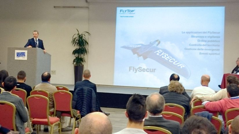 Gabriele Santiccioli, presidente FlyTop