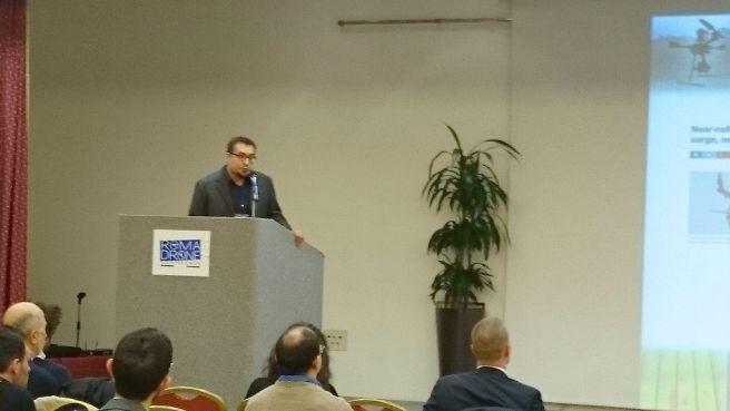 Stefano Russo, research & development manager Italdron
