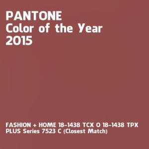 Colore dell'anno 2015