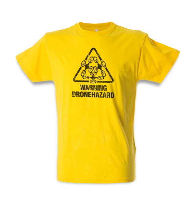 T-shirt Dronehazard