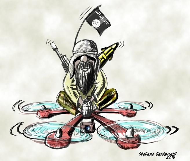 vignetta terrorista