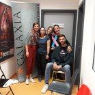 Nova Film Galaxia Salcano, Slo. Antonella, Giulia, Martina, Tiziana, Giacomo