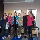PiùchePilates, Gorizia di Sara Taia Rossi. Sara, Patrizia, Tanja, Nuci, Paola, Gianna