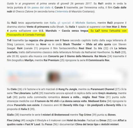 http://www.tuttotv.info/2017/01/26/stasera-in-tv-giovedi-26-gennaio-2017/